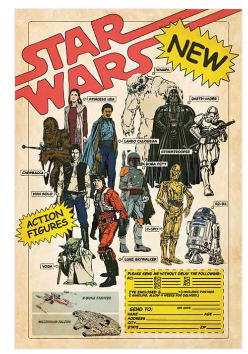 PLAKÁT 61 x 91,5 cm|STAR WARS