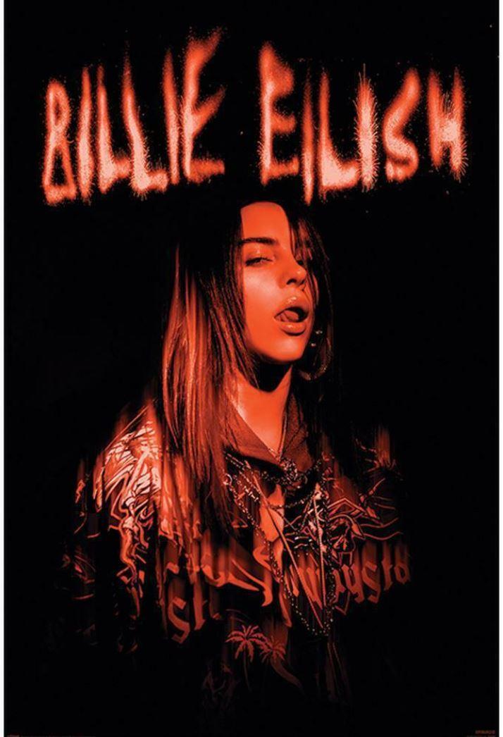 PLAKÁT 61 x 91,5 cm BILLIE EILISH